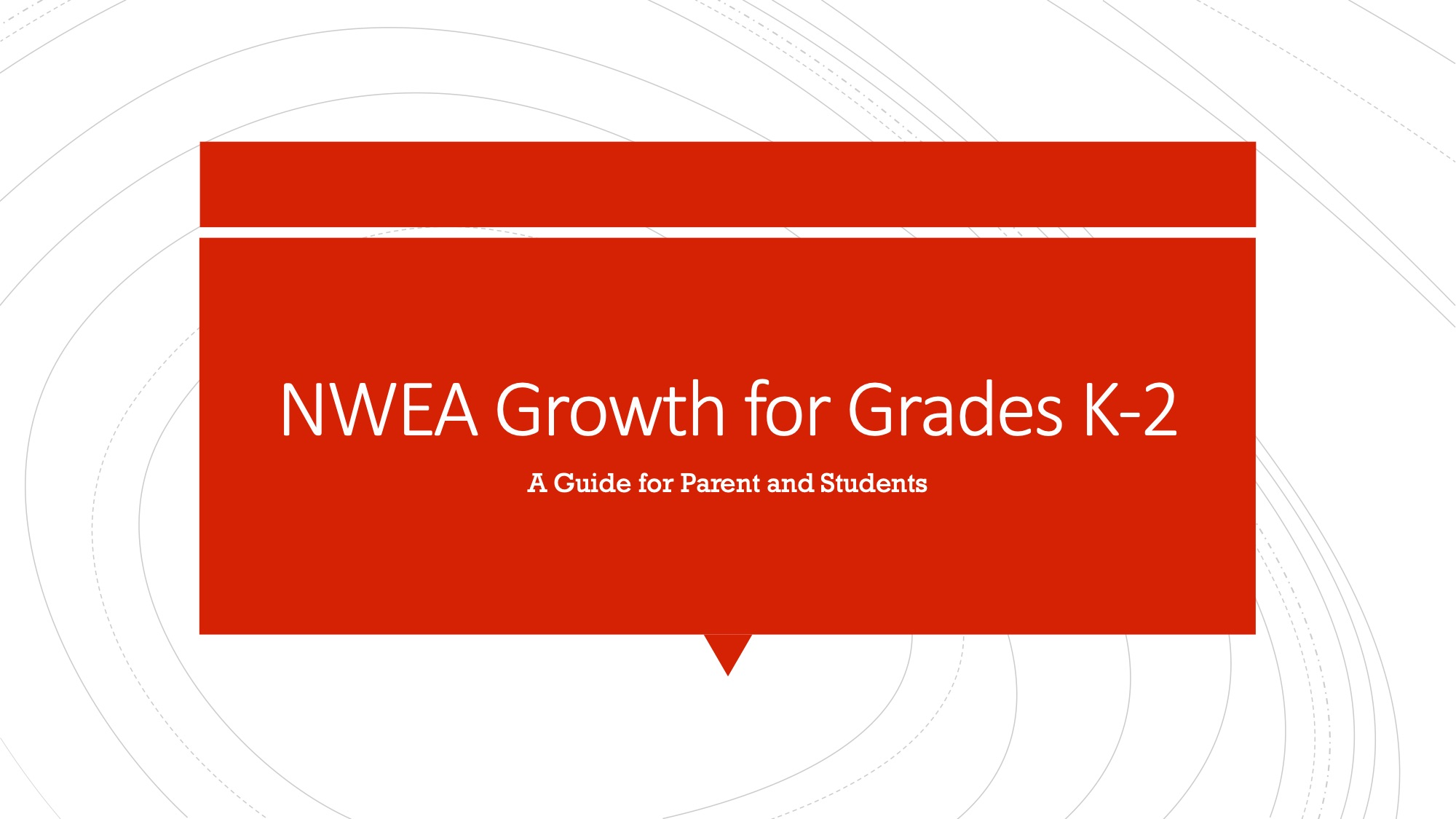 Parent & Student Guide for K-2