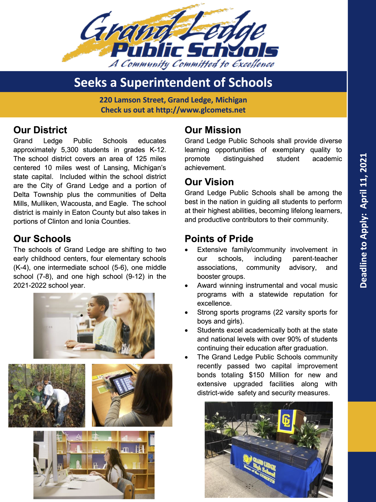 2021 Superintendent Search Flyer Page 1