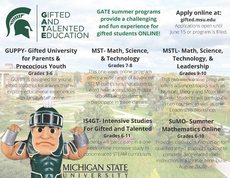 MSU's Gifted and Talented Education program
