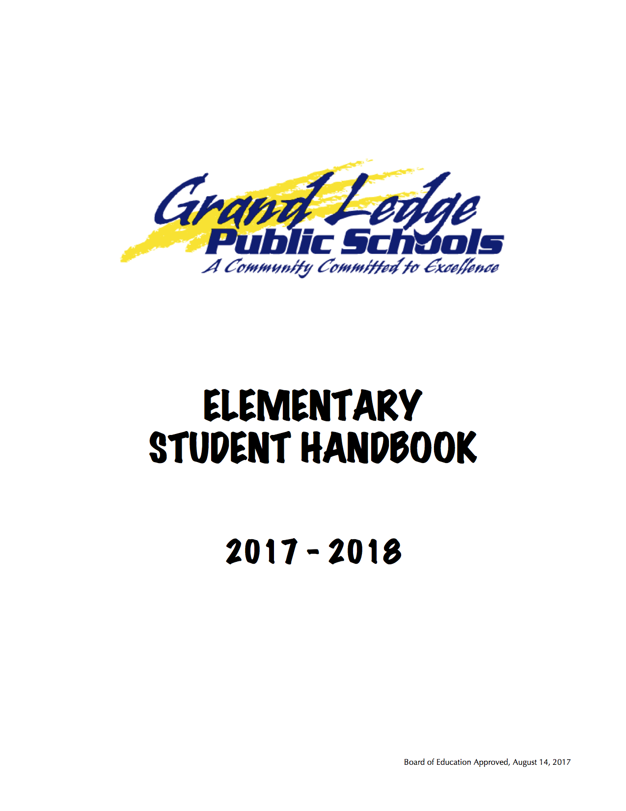 Click for the 2017-2018 GLPS Elementary Student Handbook